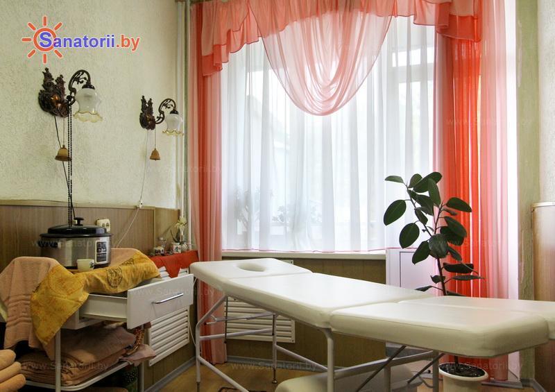 Санатории Белоруссии Беларуси - санаторий Шинник - Стоунтерапия (массаж камнями)