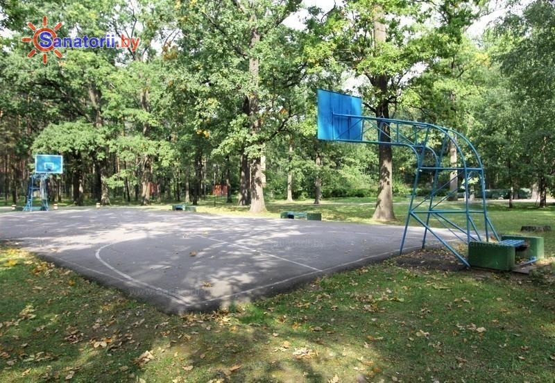 Санатории Белоруссии Беларуси - санаторий Шинник - Спортплощадка