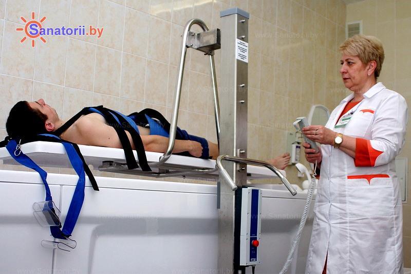 Санатории Белоруссии Беларуси - санаторий Шинник - Вытяжение позвоночника подводное