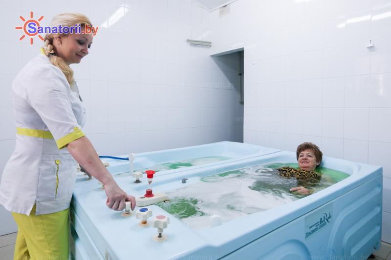 Санатории Белоруссии Беларуси - санаторий Шинник - Ванны жемчужные
