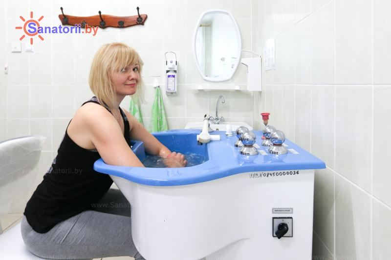 Санатории Белоруссии Беларуси - санаторий Шинник - Ванны вихревые