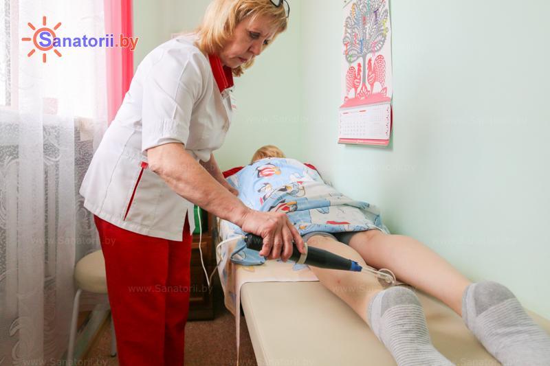 Санатории Белоруссии Беларуси - санаторий Шинник - Электролечение