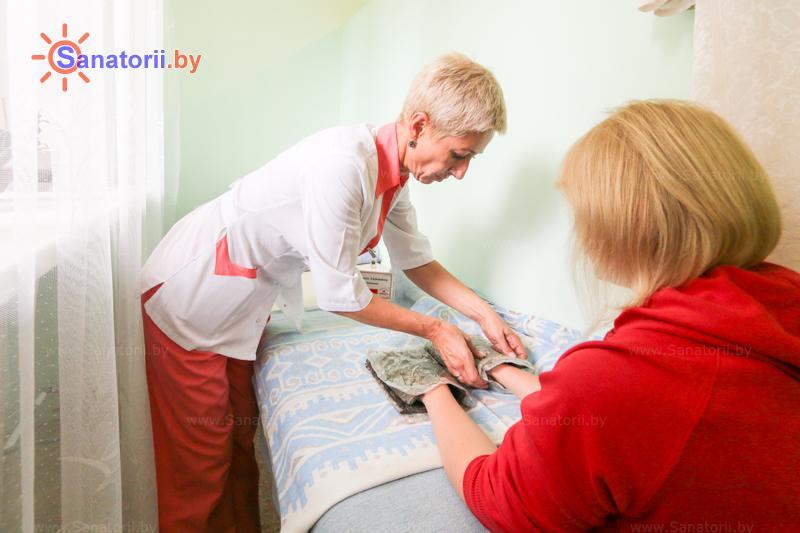 Санатории Белоруссии Беларуси - санаторий Шинник - Грязелечение (пелоидотерапия)