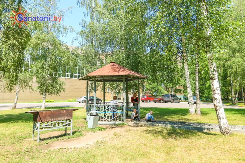 Санатории Белоруссии Беларуси - санаторий Шинник - Площадка для шашлыков