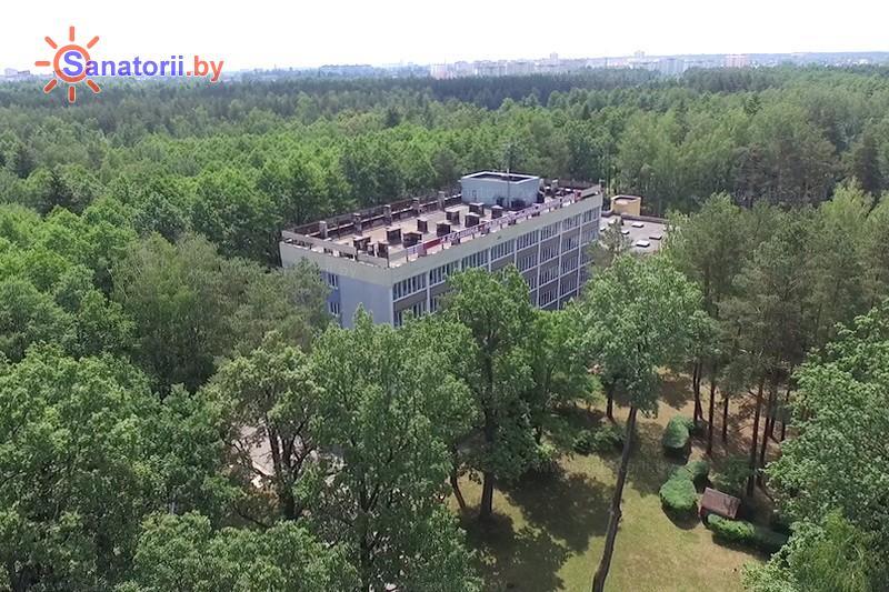 Санатории Белоруссии Беларуси - санаторий Шинник - спальный корпус