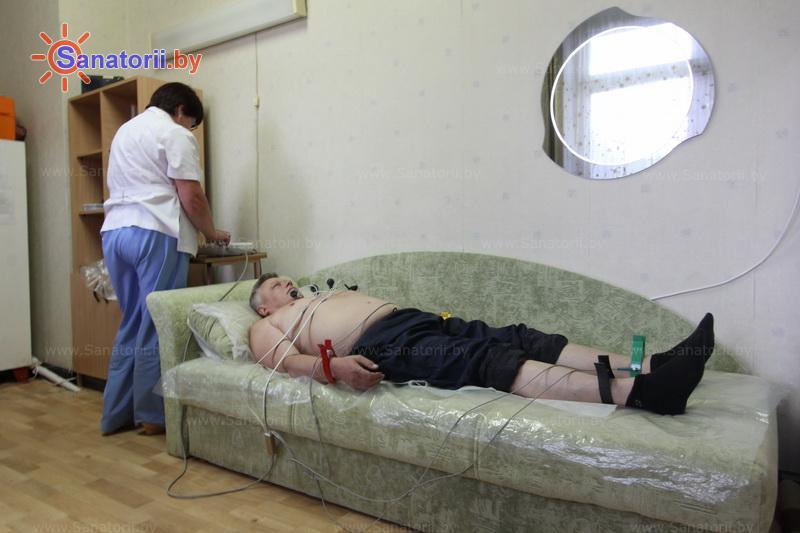 Санатории Белоруссии Беларуси - санаторий Энергетик - Электрокардиография