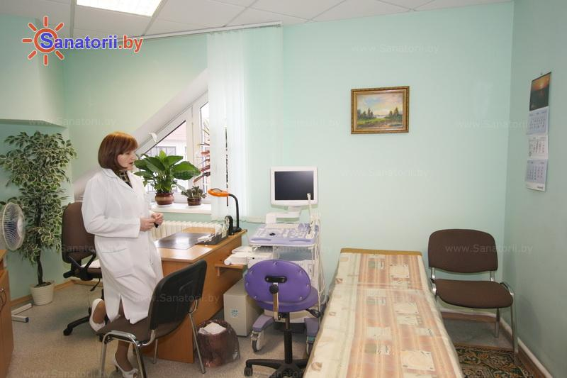 Санатории Белоруссии Беларуси - санаторий Энергетик - Ультразвуковая диагностика