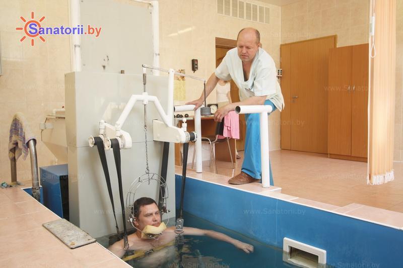 Санатории Белоруссии Беларуси - санаторий Энергетик - Вытяжение позвоночника подводное