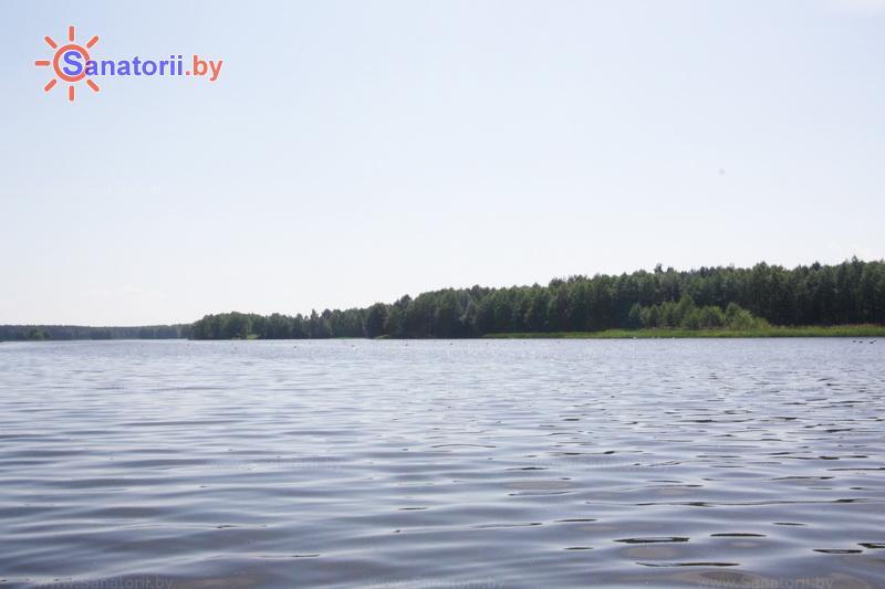 Санатории Белоруссии Беларуси - санаторий Энергетик - Водоём