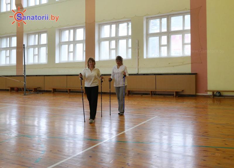 Санатории Белоруссии Беларуси - санаторий Энергетик - Ходьба скандинавская