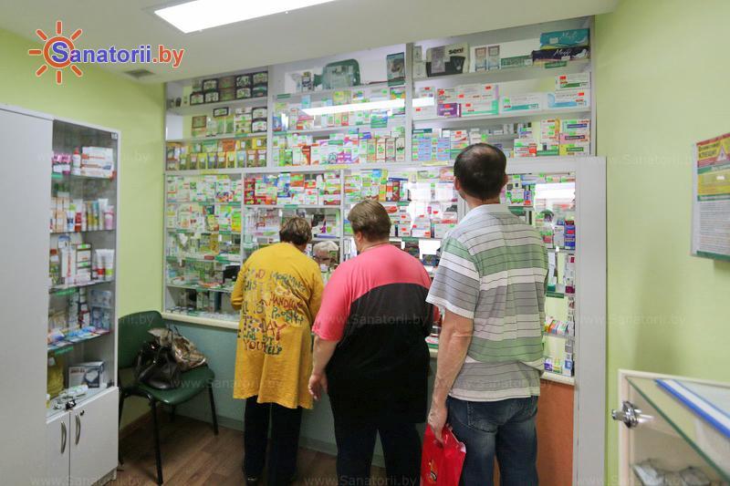 Санатории Белоруссии Беларуси - санаторий Энергетик - Аптечный киоск