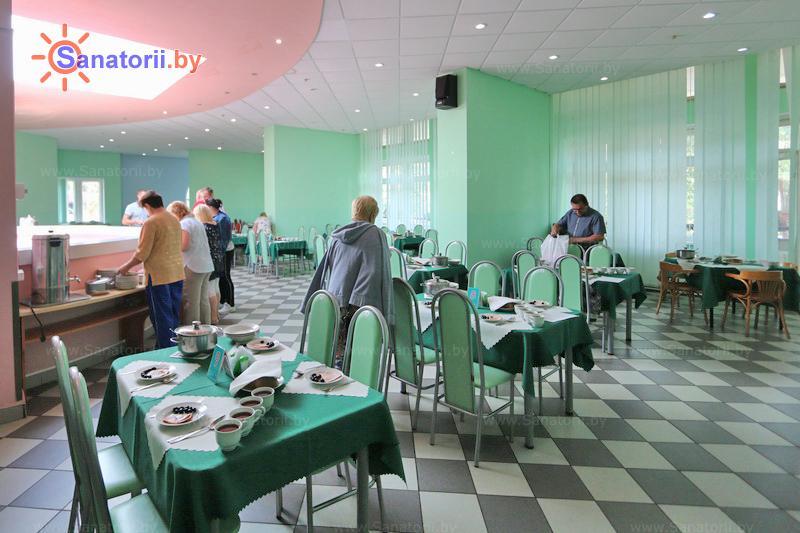 Санатории Белоруссии Беларуси - санаторий Энергетик - Столовая