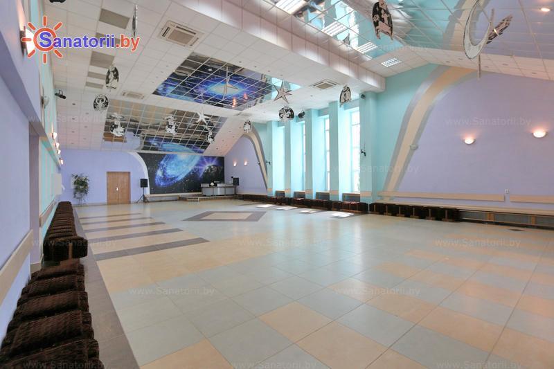 Санатории Белоруссии Беларуси - санаторий Энергетик - Танцевальный зал