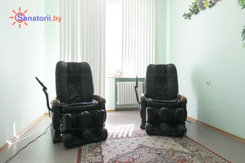 Санатории Белоруссии Беларуси - санаторий Дубровенка - Массаж аппаратный