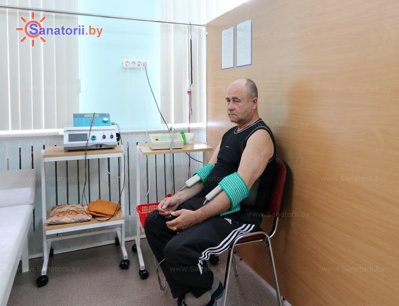 Санатории Белоруссии Беларуси - санаторий Дубровенка - Электролечение