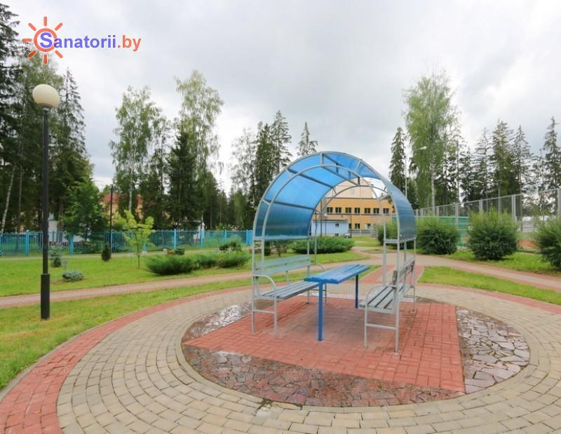 Санатории Белоруссии Беларуси - санаторий Дубровенка - Площадка для шашлыков