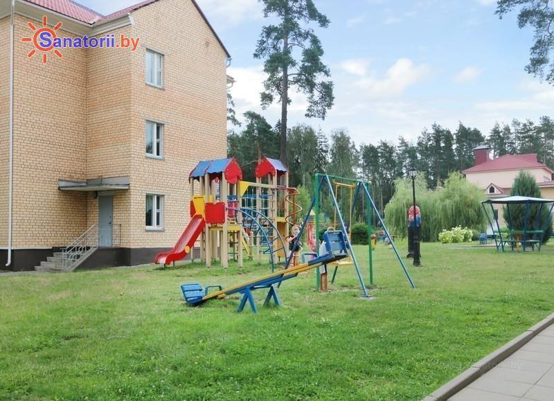 Санатории Белоруссии Беларуси - санаторий Дубровенка - Детская площадка