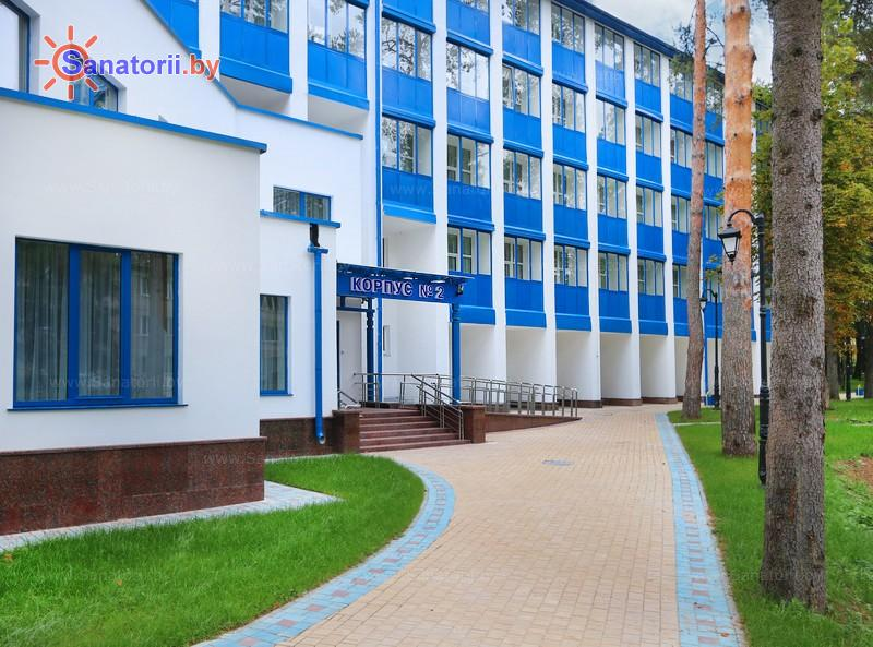 Санатории Белоруссии Беларуси - санаторий Железнодорожник - главный корпус