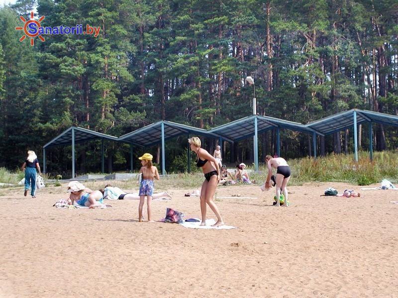 Санатории Белоруссии Беларуси - санаторий Железнодорожник - Пляж