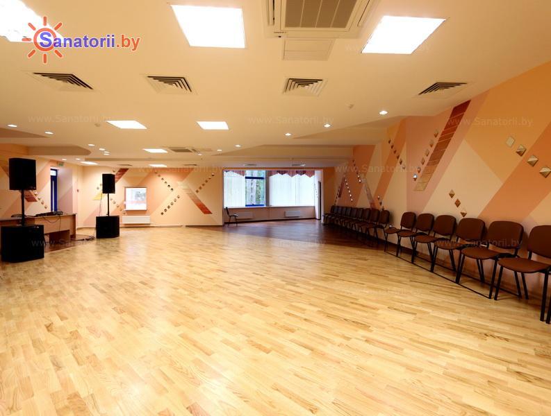 Санатории Белоруссии Беларуси - санаторий Железнодорожник - Танцевальный зал