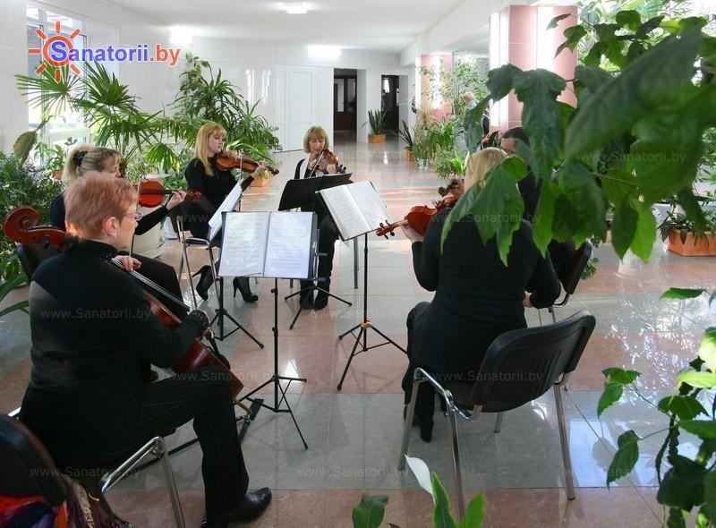 Санатории Белоруссии Беларуси - санаторий Железнодорожник - Зимний сад