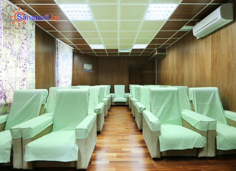 Санатории Белоруссии Беларуси - санаторий Железнодорожник - Медицинская база