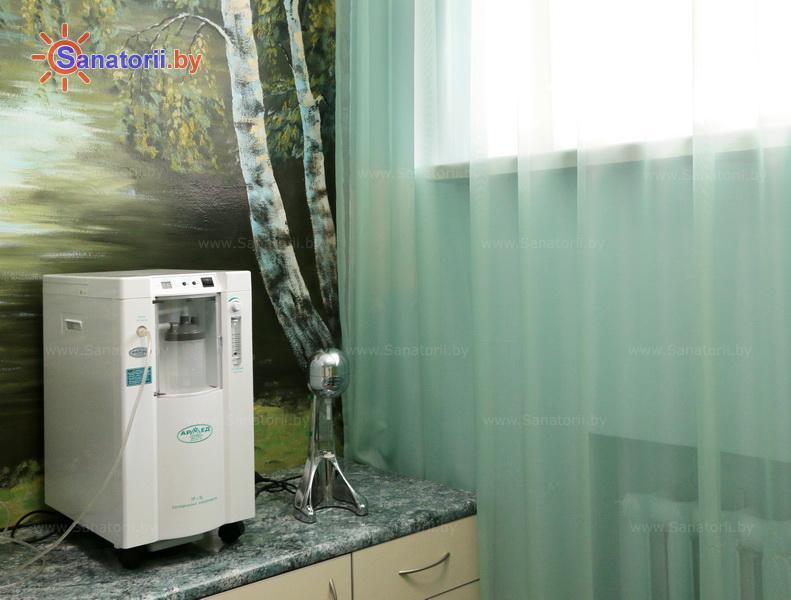 Санатории Белоруссии Беларуси - санаторий Свитанок - Оксигенотерапия (кислородотерапия)