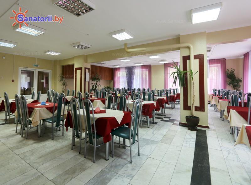 Санатории Белоруссии Беларуси - санаторий Свитанок - Столовая