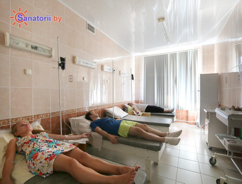 Санатории Белоруссии Беларуси - санаторий Гомельского отд. БЖД - Процедурный кабинет