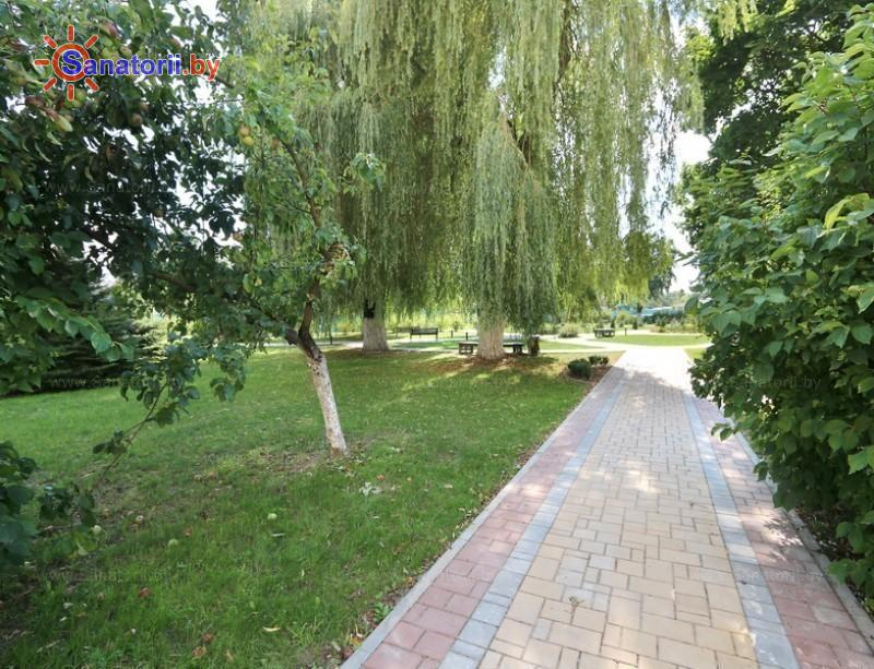 Санатории Белоруссии Беларуси - санаторий Гомельского отд. БЖД - Территория и природа