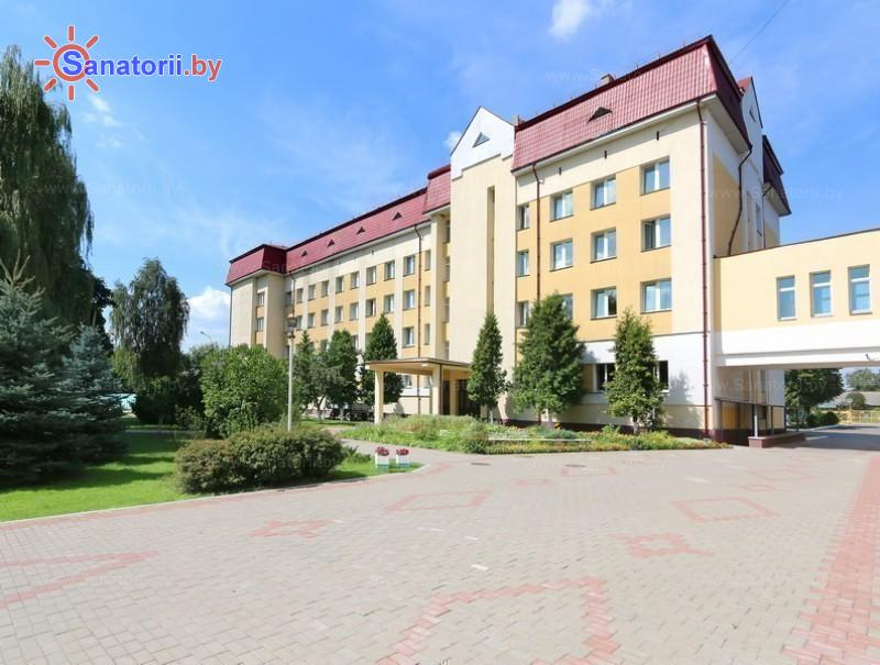 Санатории Белоруссии Беларуси - санаторий Гомельского отд. БЖД - лечебный корпус