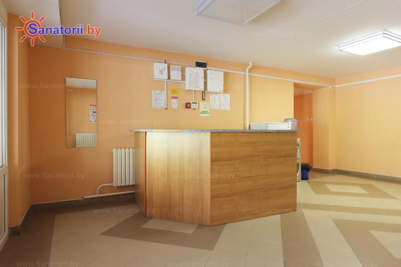 Санатории Белоруссии Беларуси - оздоровительный комплекс БАТЭ - Регистратура