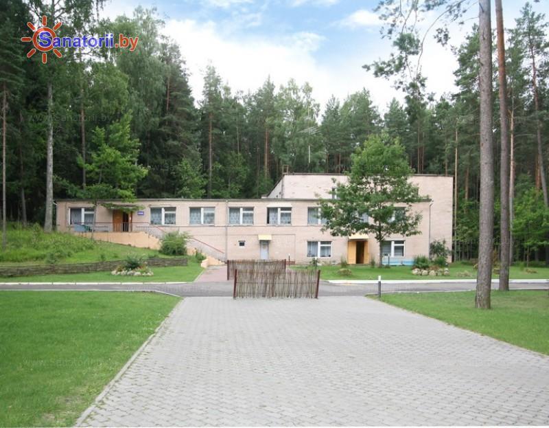 Санатории Белоруссии Беларуси - оздоровительный комплекс БАТЭ - административно-лечебный корпус