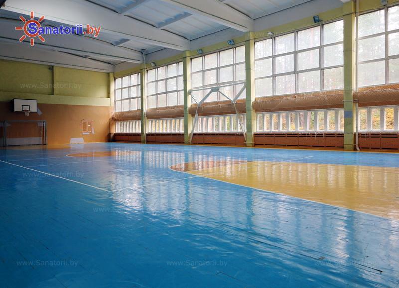 Санатории Белоруссии Беларуси - оздоровительный комплекс БАТЭ - Спортзал