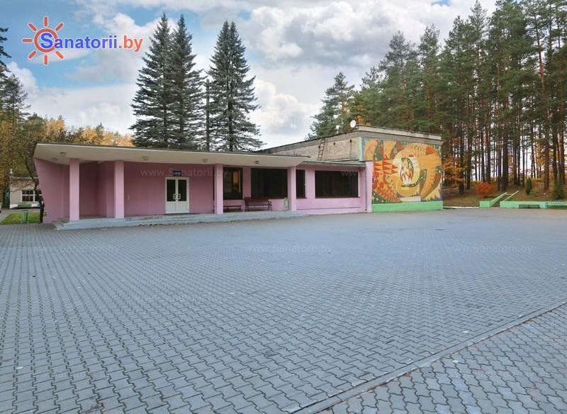 Санатории Белоруссии Беларуси - оздоровительный комплекс БАТЭ - Танцплощадка летняя