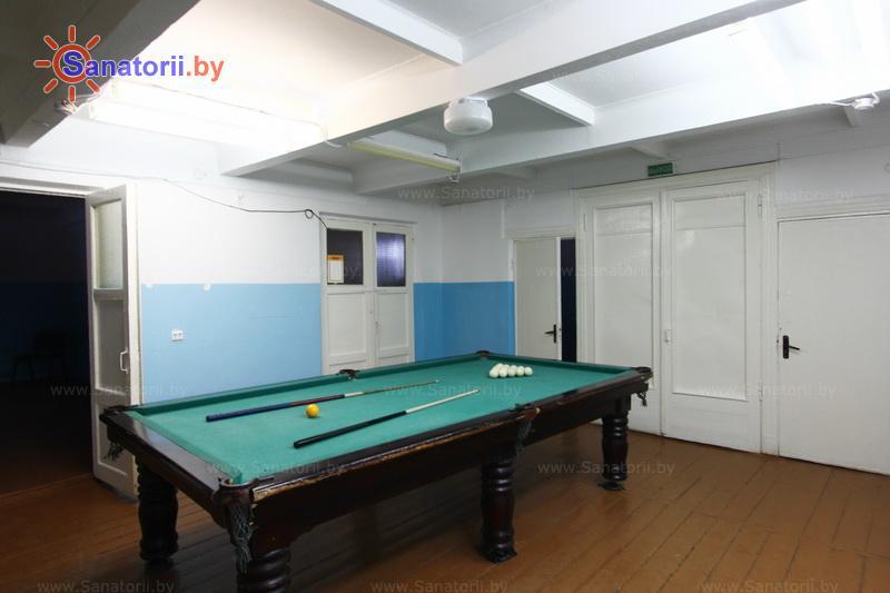 Санатории Белоруссии Беларуси - оздоровительный центр Дудинка - Бильярд