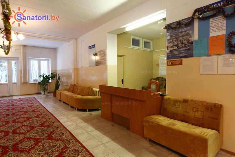 Санатории Белоруссии Беларуси - оздоровительный центр Дудинка - Регистратура