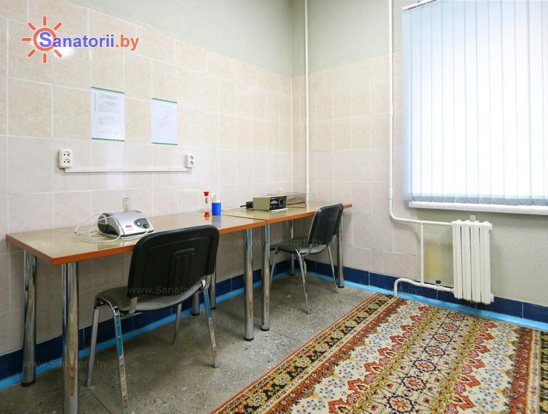 Санатории Белоруссии Беларуси - оздоровительный центр Дудинка - Ингаляции (аэрозольтерапия)