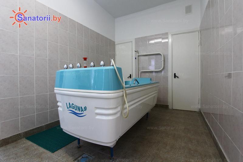 Санатории Белоруссии Беларуси - оздоровительный центр Дудинка - Ванны скипидарные