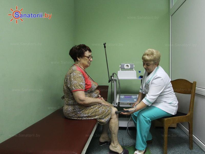 Санатории Белоруссии Беларуси - санаторий Им. К.П. Орловского - Лазерная терапия