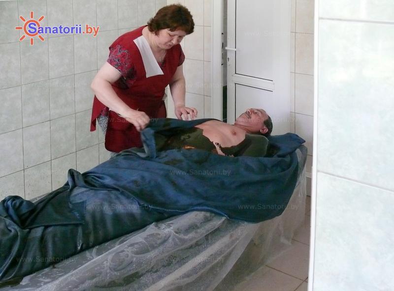 Санатории Белоруссии Беларуси - санаторий Им. К.П. Орловского - Грязелечение (пелоидотерапия)