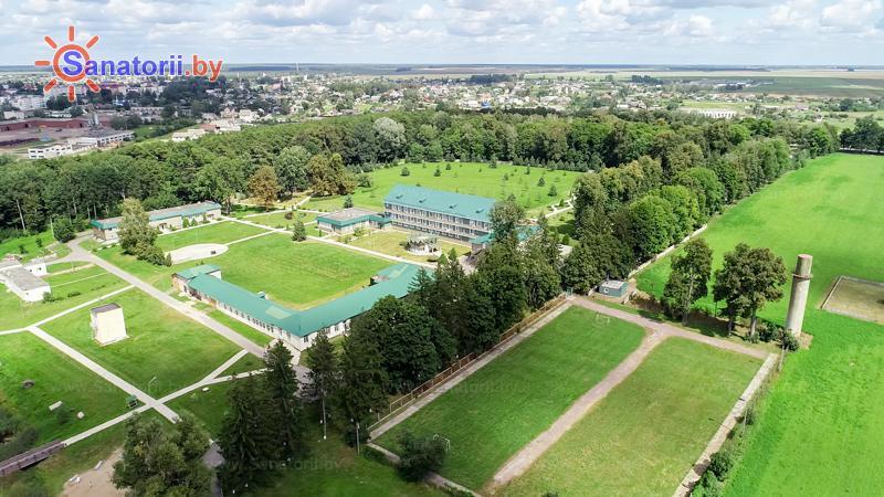 Санатории Белоруссии Беларуси - санаторий Им. К.П. Орловского - Территория и природа