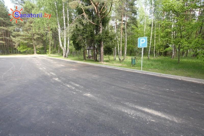 Санатории Белоруссии Беларуси - санаторий Радуга - Парковка