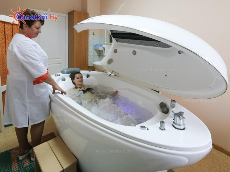 Санатории Белоруссии Беларуси - санаторий Радуга - Реабилитационная капсула (СПА-капсула)