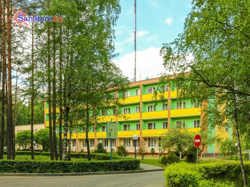 Санатории Белоруссии Беларуси - санаторий Радуга - Территория и природа