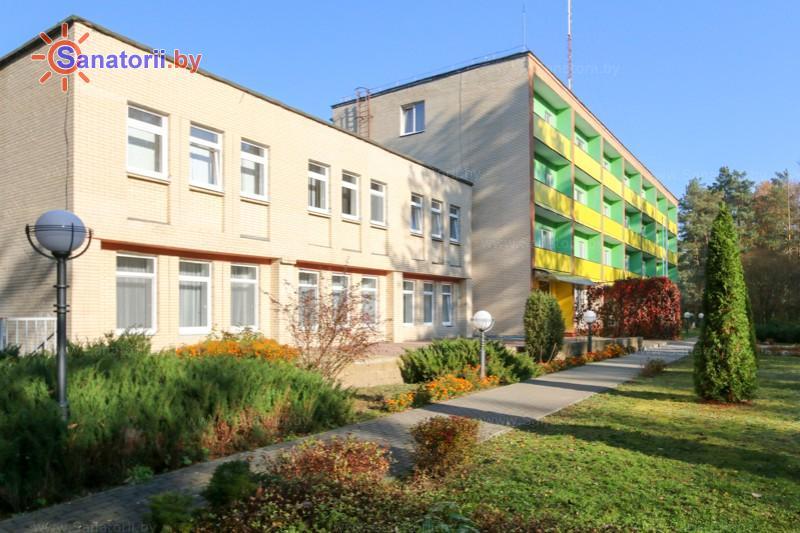 Санатории Белоруссии Беларуси - санаторий Радуга - главный корпус