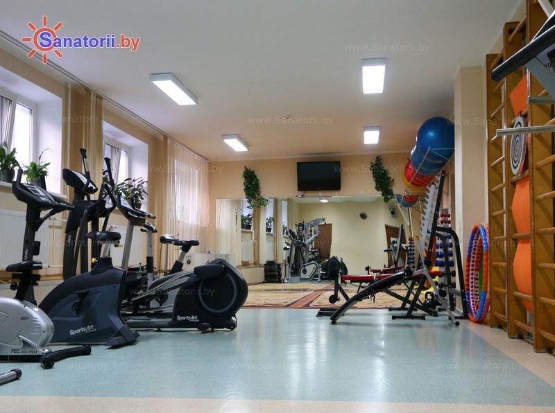 Санатории Белоруссии Беларуси - санаторий Солнечный - Спортзал