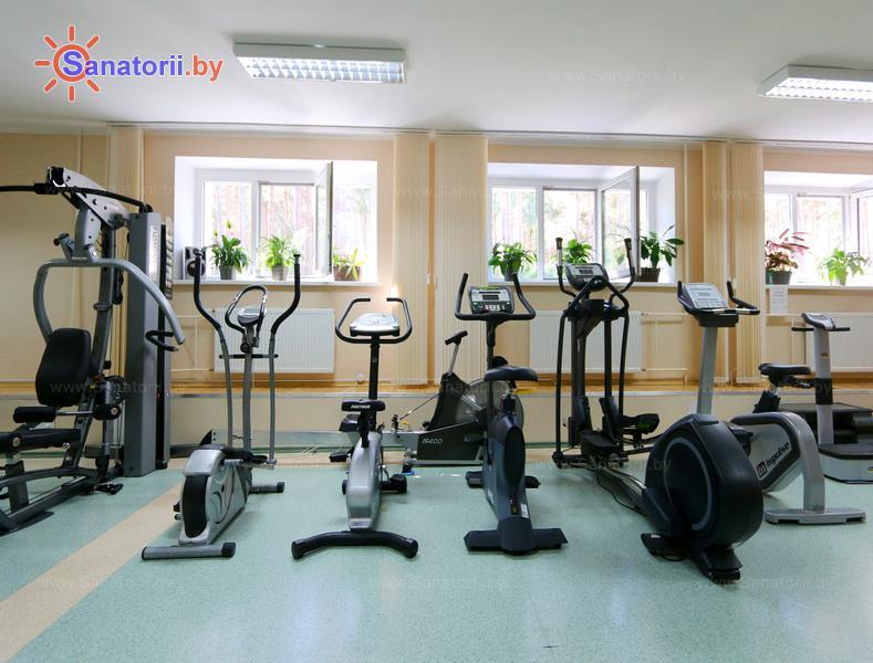 Санатории Белоруссии Беларуси - санаторий Солнечный - Тренажерный зал (механотерапия)