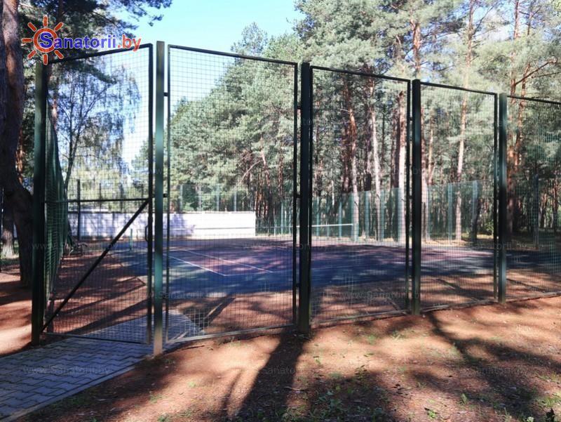 Санатории Белоруссии Беларуси - санаторий Солнечный - Теннисный корт