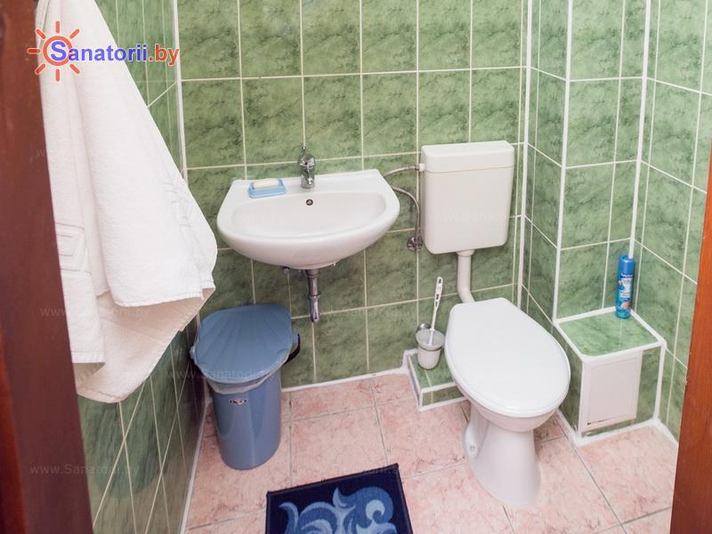 Санатории Белоруссии Беларуси - санаторий Солнечный - двухместный двухкомнатный стандарт премиум (главный корпус)